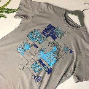 Lululemon Mens Graphic T-shirt, Grey XL